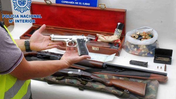 Armas en El Ejido