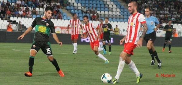 El Almería no fue capaz de vencer a otro recién ascendido