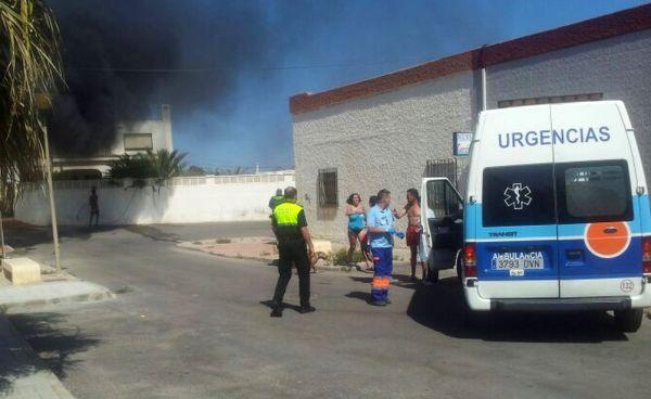 Incendio Cabo de Gata