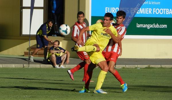 La UD Almería camino de Primera en su tercer partido disputado en La Manga Club