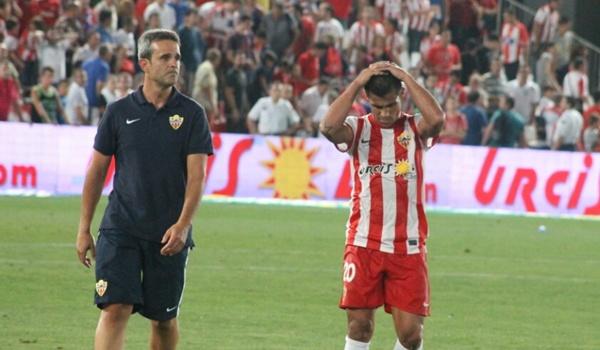 El Almería no es capaz de vencer en la Liga BBVA