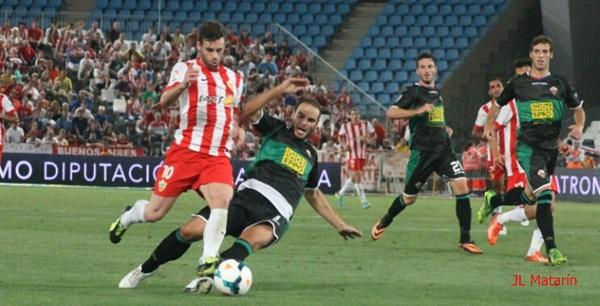 El jugador del Almería es pichichi de la Liga BBVA