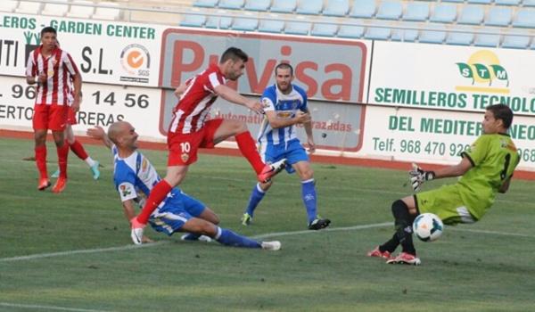 El Almería cierra su concentración por Murcia antes de militar en Liga BBVA