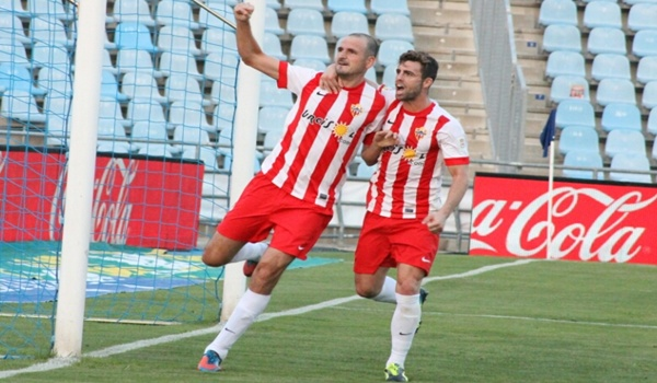 Liga BBVA con empate en el Coliseum Alfonso Pérez