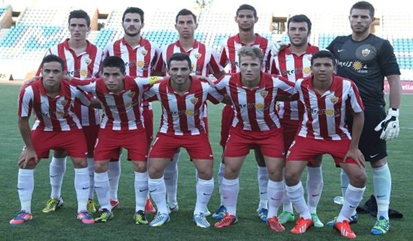 Grupo cuarto de Segunda División B ante el Jaén de la Liga Adelante