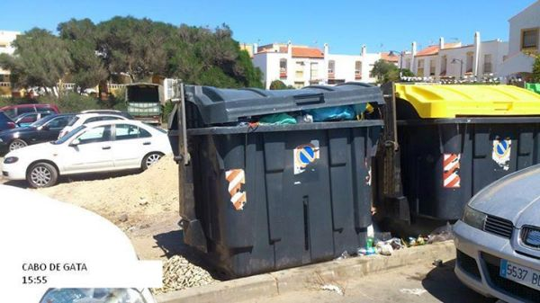 basura en Cabo de Gata