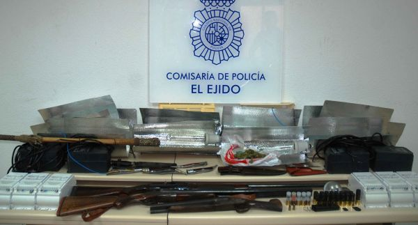 Materia intervenido por la Policía Nacional