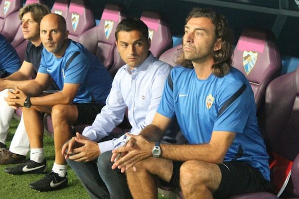 Entrenador de la UD Almería en Liga BBVA