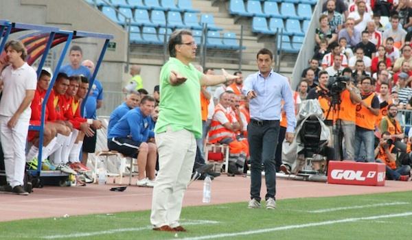 UD Almería y FC Barcelona en la Liga BBVA