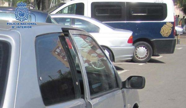 Marco doblado del último vehículo