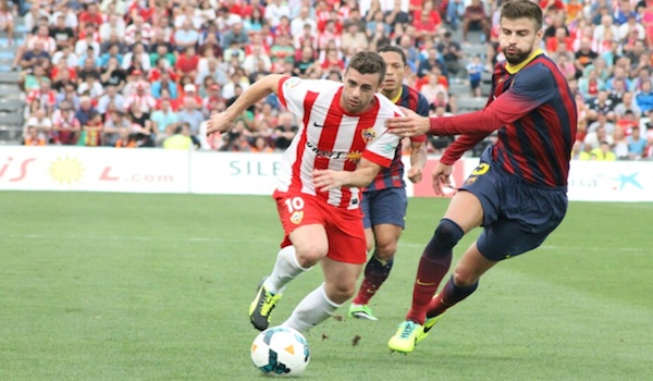 El Barcelona ganó en Almería