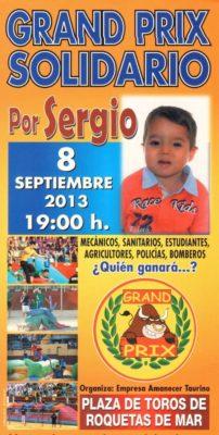 Cartel gran prix Roquetas Sergio