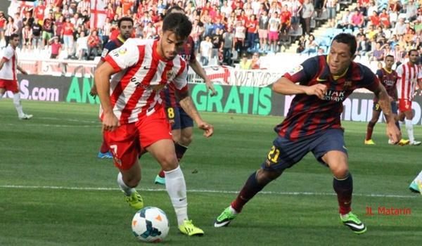 El Almería contra el líder de la Liga BBVA