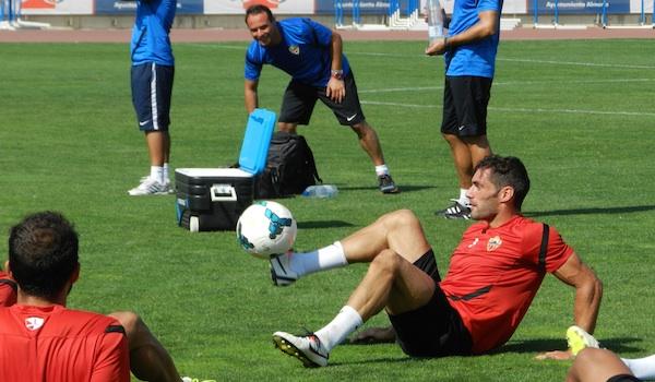 UD Almería ante el Levante en la Liga BBVA