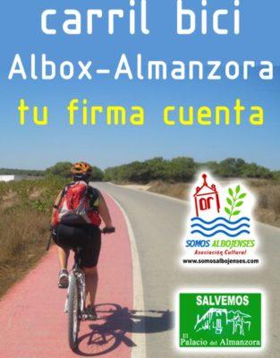 carril bici albox-almanzora