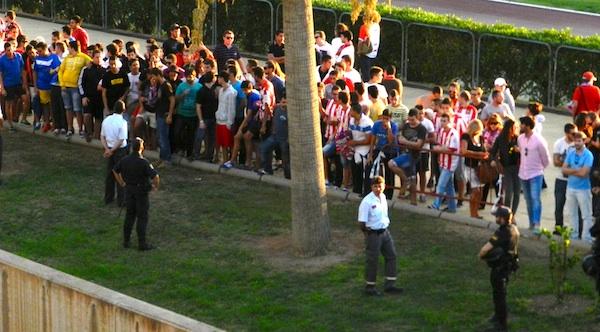 El Almería pierde con el Rayo Vallecano