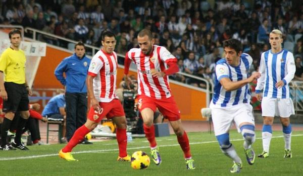 UD Almería último de la Liga BBVA