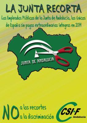 Campaña Recortes Junta de Andalucía (1)