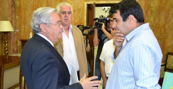 Andrés Góngora con el Subdelegado de Gobierno en Almería (1)