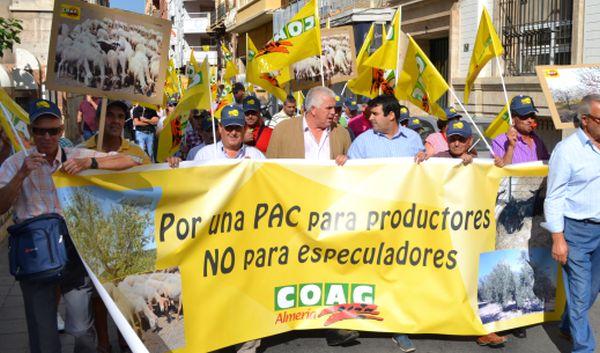 Miguel López y Andrés Góngora han encabezado la movilización