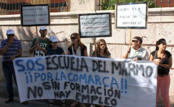 Movilizaciones Escuela Mármol