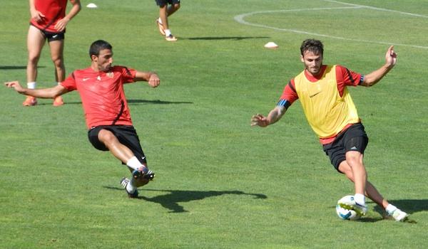 Defensas de la UD Almería en Liga BBVA