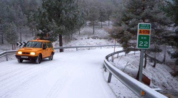 Nieve en Bacares