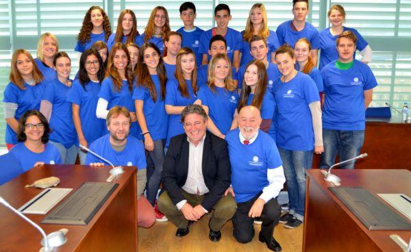 Alumnos alemanes visita UAL