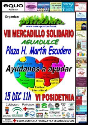 Cartel VI IMercadillo Solidario