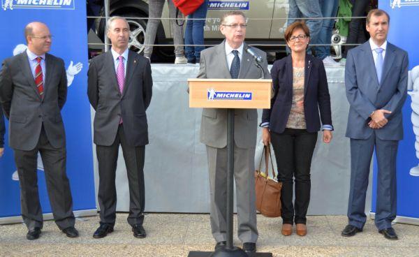 Inauguracion Plan Seguridad Vial Michelin en la UAL