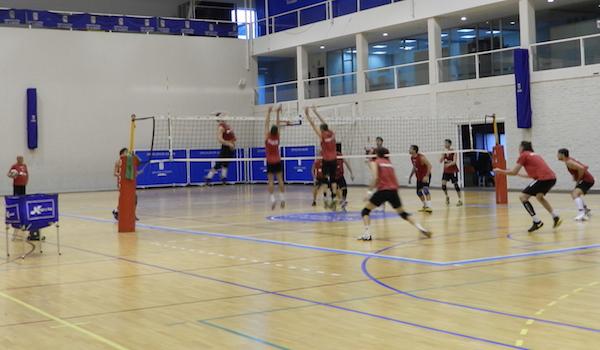 Superliga Voleibol partido en Andorra