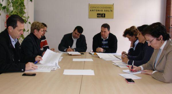 PSOE reunión organizaciones agrarias