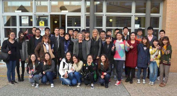 Estudiantes chinos en la UAL
