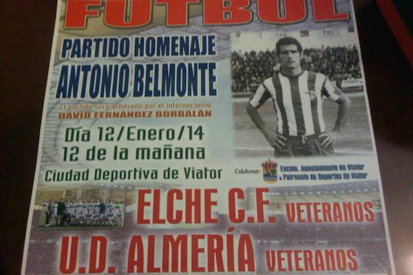 UD Almería Elche CF Veteranos fútbol