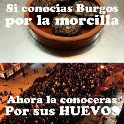 Los huevos de Burgos