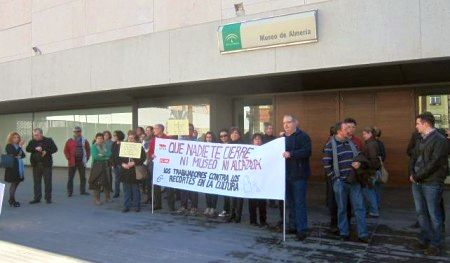 Protesta Alcazaba