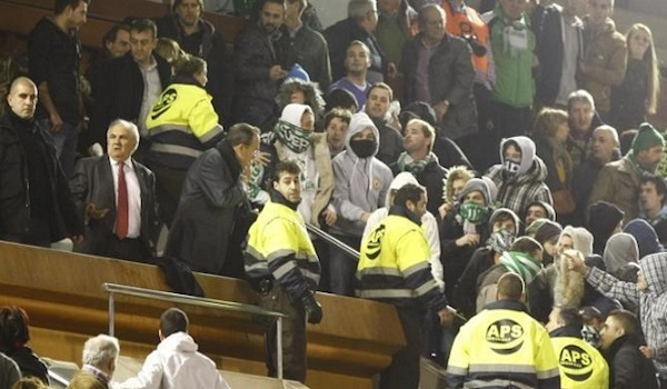 Copa del Rey en Santander incidentes
