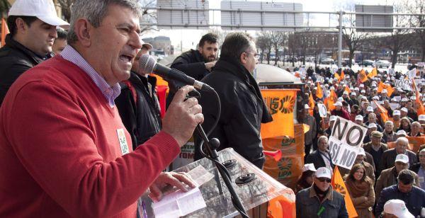 secretario general de UPA, Lorenzo Ramos