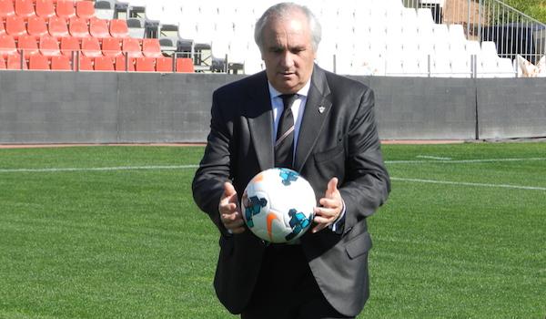 Presidente de la UD Almería Liga BBVA