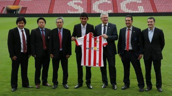 UD Almería Liga BBVA en Tailandia