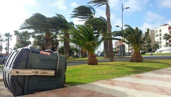 Mucho calor en el interior de Almería y fuertes rachas de viento en el litoral