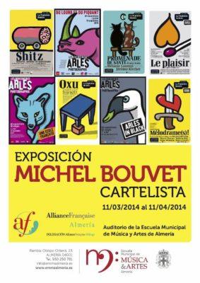 Michel Bouvet cartel anunciador