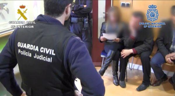 Estafa Policía y Guardia Civil
