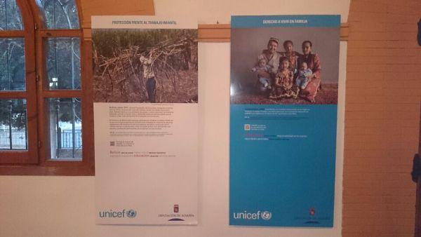 Exposición UNICEF Zurgena