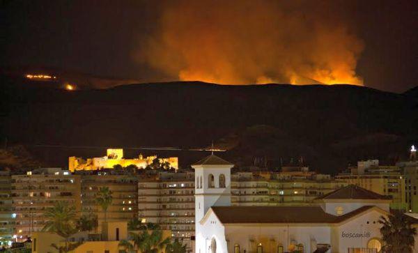 Incendio Sierra de Gádor