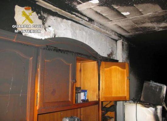 Incendio vivienda