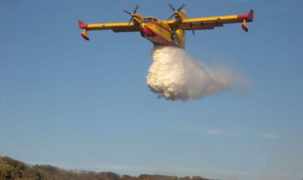 El incendio forestal originado por un rayo en Tabernas calcina 2,3 hectáreas de matorral
