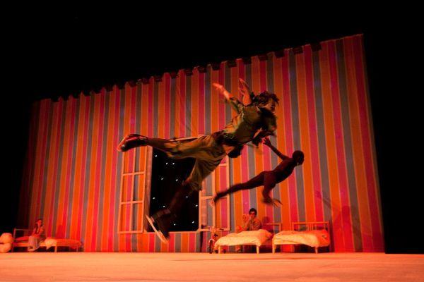 'Peter pan on ice', momento de la actuación en Salamanca