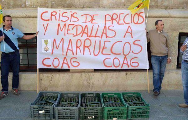 Reivindicacion de COAG Almeria