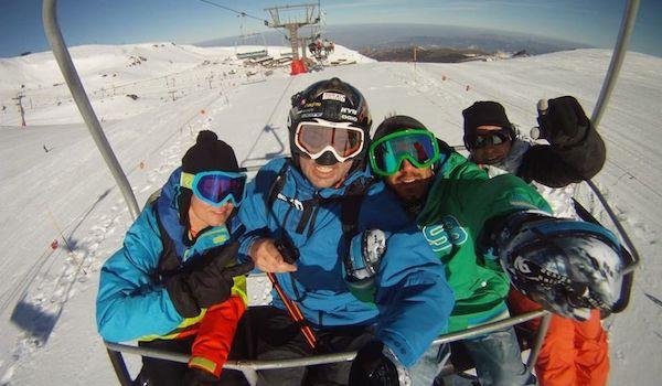 Esquí en Sierra Nevada